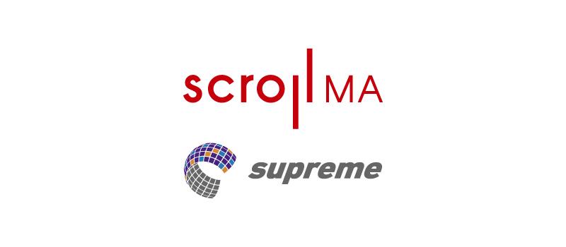 スクロール360とスクロールMAを共同開発いたしました