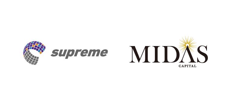 ミダスファンドによるスプリームシステム株式会社の過半数株式取得のお知らせ